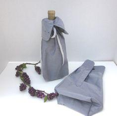 Men's #Wine Bottle #Gift Bags Set of 2 Jones New York by #MagpieSue