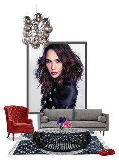 """indigo vibe"" by katrisha-art ❤ liked on Polyvore featuring interior, interiors, interior design, home, home decor, interior decorating, Eichholtz, Joybird, Frontgate and Tod's"