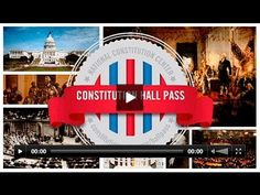 Constitution Hall Pass: Freedom of Expression -- A fun 17-minute video that meets the Constitution Day education standard!