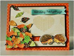nicnakschat: Lawn Fawn Hedgehugs Slider card