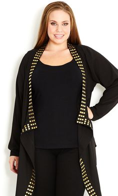 Gold Stud Jacket