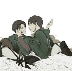 """•"""" I love being here with you Eren"""""""