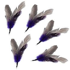 Pecute Feather Refill 5 Pack for Interactive Cat Feather Wand Exercising Kitten or Cats *** For more information, visit image link.