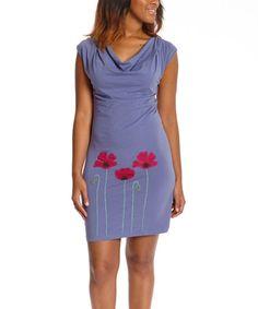 Look what I found on #zulily! Cornflower Poppy Isabella Organic Dress - Women by Synergy Organic Clothing #zulilyfinds