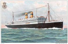 What I learned from my Grandma Steam Boats, Nautical Art, Tall Ships, Sailing Ships, Holland, Ocean, Medium, Classic, Pintura