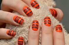http://www.orglamix.com  25 Clever Nail Ideas For Halloween  Whether you're dressing up from head to toe or forgoing a costume entirely, let your fingertips get in on the Halloween action.    #Halloween #manicure #nails #nail #nailart #ideas #nail #art