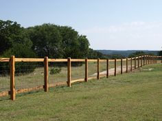 Fences of Texas | Boerne Wooden Rail Fences | Moeller Ranch