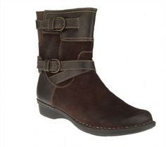 104.92$  Buy here - http://vidlh.justgood.pw/vig/item.php?t=0mur91s45439 - Clarks Bendables Comfy Whistle Ranch Suede Ankle Boots Brown 8M NEW A236979