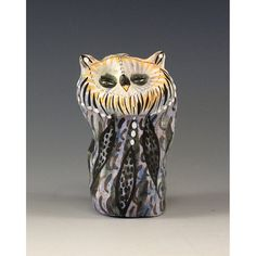 Don  Ceramic Sculpted Owl by Jenny Mendes by jennymendes on Etsy