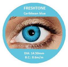 Fresh Tone Caribbean Blue