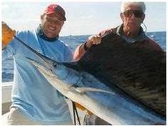 Go offshore fishing and catch those sailfish, swordfish and tuna