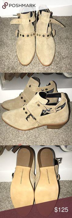 Rebecca Minkoff booties Never worn, brand new Rebecca Minkoff booties! Rebecca Minkoff Shoes Ankle Boots & Booties