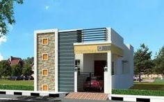 733 Sq feet 2 BHK Independent House for Sale in Avadi, Chennai for Lakhs *Possession: Jul 2017 *Covered Car Parking Single Floor House Design, House Front Design, Front Elevation Designs, House Elevation, Indian House Plans, House Design Pictures, Independent House, Bungalow House Design, Beautiful Houses Interior