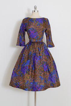 Vintage 50s Dress vintage Jerry Gilden 1950s от millstreetvintage