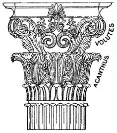 Greek Architecture Drawings example 3 corinthian | greek architecture | pinterest | corinthian