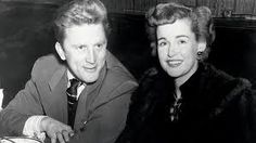 Kirk Douglas and Diana Dill (first wife of Kirk, and mother of Michael and Joel Douglas)