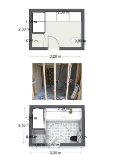Spring Bathroom Remodel! Our Marit Skei - RoomSketcher user - Offers before  after photos - What do you think? :)  http://nr14.wordpress.com/2013/03/20/badgjestebadvaskerom/  (The words are in Norwegian, but the images are universal)