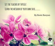 Love, Share & Connect - RosieBanyan.com