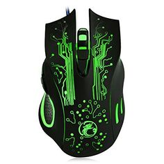 f3f74fe381a Promotion 1000/1600/2400 DPI LED Optical 6D USB Wired Gaming Game Mouse Pro