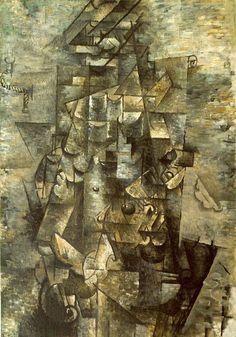 Conheça Homem com Violão, de Georges Braque