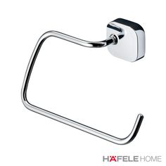 Instead of a simple towel rail you are after a towel ring? Look at Thessa's bathroom collection to find a towel ring of a different kind. Find all bathroom products on Hafele Home. #HafeleHome #WhatIsYourHomeMissing #Bathroom #Bathroomdesign #Bathroomdecor #bathroomideas #bathroomdecorideas #bathroominspiration