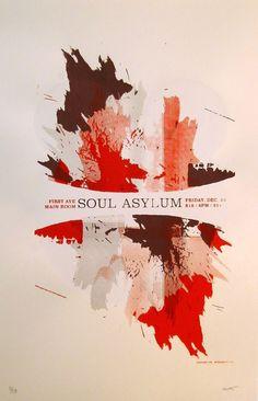 Soul Asylum gig poster