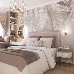 Design Your Bedroom, Luxury Bedroom Design, Home Room Design, Interior Design, Room Ideas Bedroom, Home Decor Bedroom, Bed Room, Stylish Bedroom, Luxurious Bedrooms