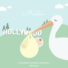 Nombres de #bebés #famosos #Martín