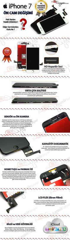 iphone 7 kırık cam değişimi