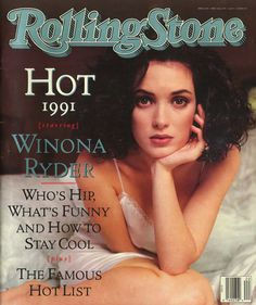 winona ryder, rolling stone cover, 1991