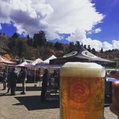 Day 2 of Basin Beer Fest is underway! It's another gorgeous fall day for live music and beers on the lawn. #SnowbasinResort #BasinBeerFest