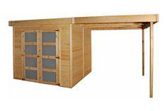 Cabane 'New York +' Corner Desk, Shed, New York, Furniture, Home Decor, Car Ports, Extension, Diy, Ideas