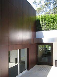 ultramoderne architektur - haus mit cooler fassade