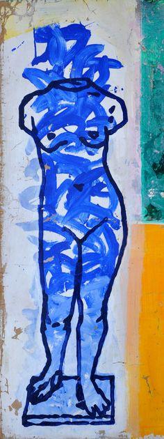 """C'est magnifique!!!  Saatchi Online Artist: Gray Rafael; Acrylic, Painting """"Venus de Maillol 2011"""""""