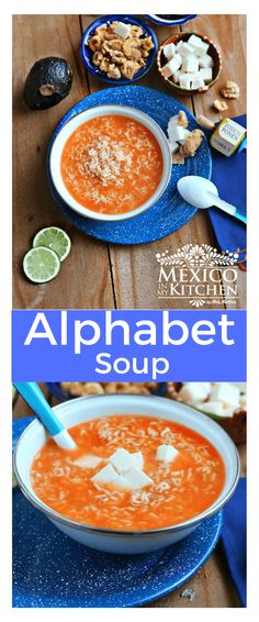 Sopa de Letras - This alphabet soup is really easy to prepare and is loved by everyone, young and old. Quick and easy.
