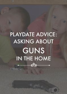 How do you ask about gun safety in the home of your child's friends? Jo Frost shares her advice.