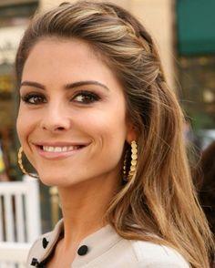 Maria Menounos Hairstyles: Braided Hairstyle