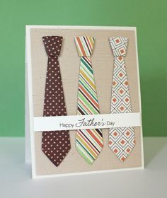 DIY Holiday: Your Own Custom Card for Dad This Father's Day - Craftsy Article Clearly Sentimental About Fathers, Linen Background, Suit and Tie Die-namics - Amy Rysavy Tarjetas Diy, Create Your Own Card, Boy Cards, Father's Day Diy, Fathers Day Crafts, Cricut Cards, Birthday Cards For Men, Birthday Gifts, Mothers Day Cards