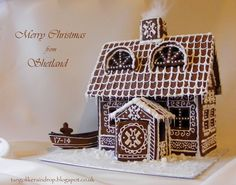 Shetland Pepperkakehus (Gingerbread House)