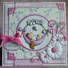 A Scrapjourney: Baby card