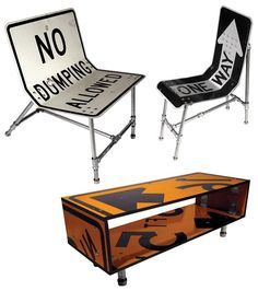 No dumping allowed! Recycled furniture ideas