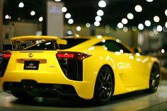 nice Lexus LFA pictures