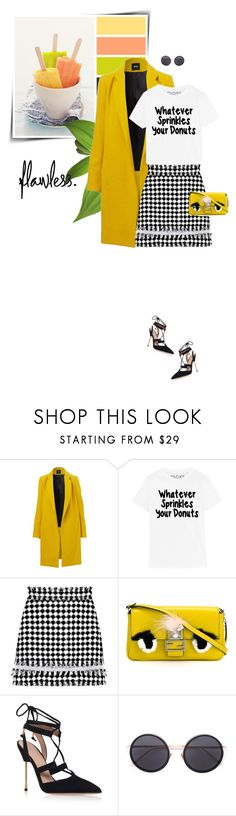"""""""Sweet Girls!!! (Top Fashion Sets for Mar 29th, 2016)"""" by sophiek82 ❤ liked on Polyvore featuring MSGM, Fendi, Kurt Geiger, Linda Farrow, Clutch, fendi and spring2016"""