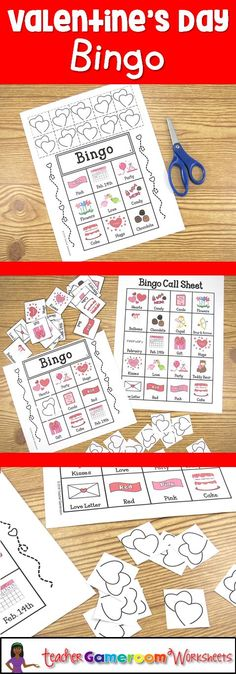 Easy prep Valentine's Day bingo. Includes a smartboard/ipad compatible powerpoint game.