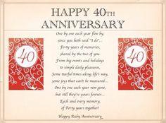 40th anniversary poems - 997×768