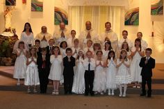 Congratulations to our second grade class on their Blessed First Communion!   Saint John the Evangelist Catholic School