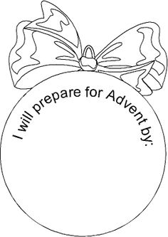 Advent Saint ornaments craft for Catholic kids- these things are ...