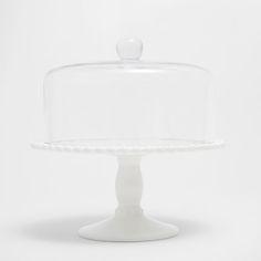 Imagen del producto Fuente pastel loza y vidrio