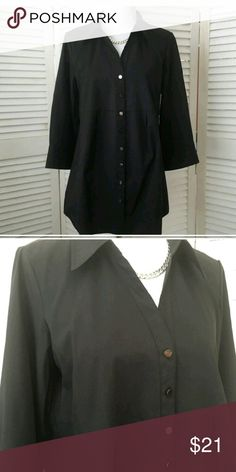 Beautiful black tunic Wore once for an hour and thars all. Thus is absolutely stunning and great material. Tops Tunics