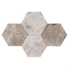New York Soho Hexagon Porcelain Tile - 10in. x 11in. - 100106939 | Floor and Decor